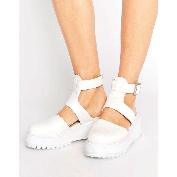 Chunky heel platform sandals, Heels