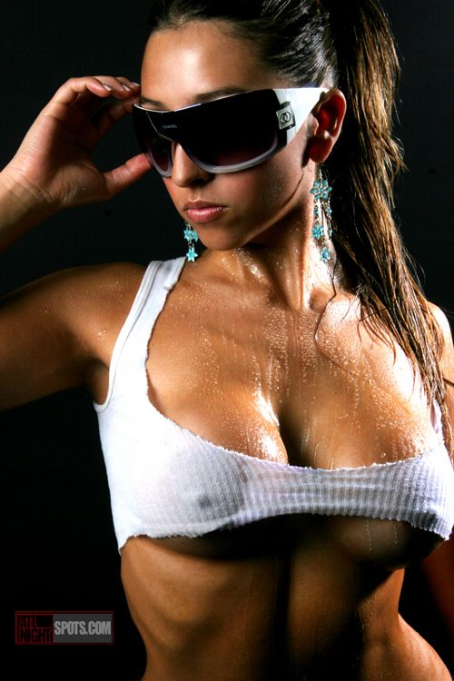 Women in Just T-Shirts   Douchebags: sunglasses indoors or wife-beater A-shirts? - Bodybuilding ...