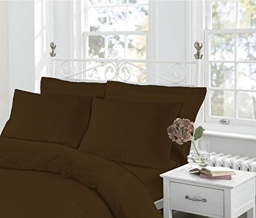 K Collection Percale Easy Care Polycotton Plain Dyed Duvet Cover Bedding Single Super King 200 x 200cm King Double White, Double
