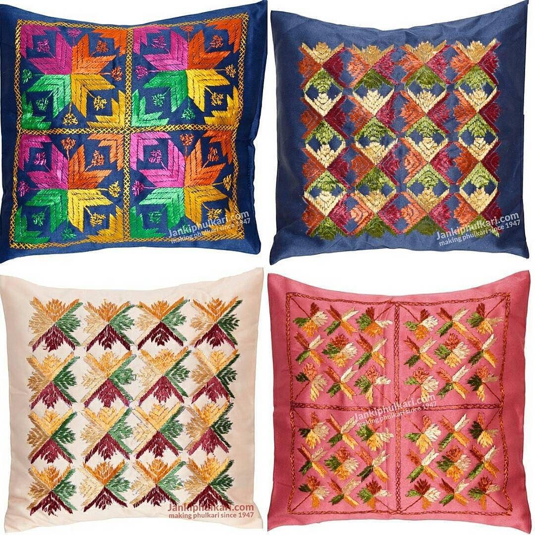 Phulkari cushion cover rs shop now bitlapuvq