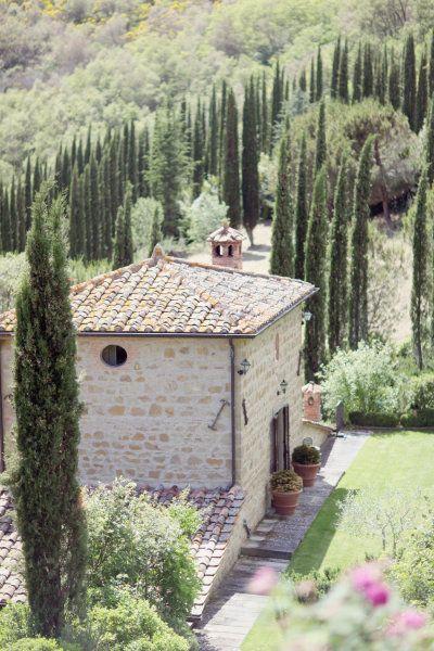 Tuscany Toskana Mediterrane Architektur Toskanischer Garten