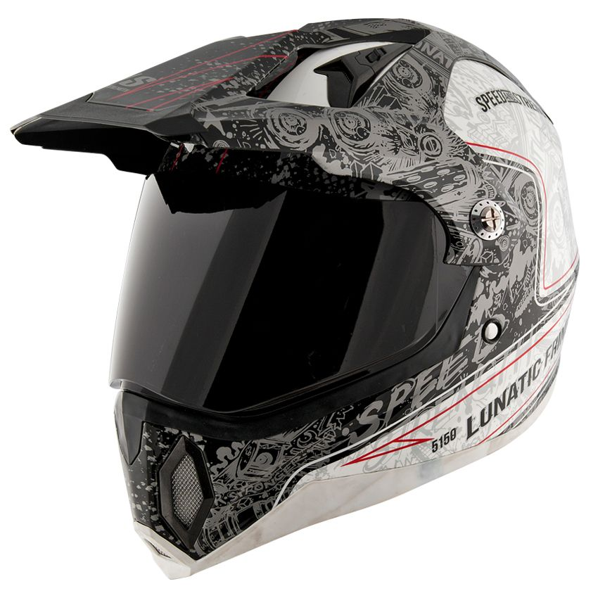 Lunatic Fringe™ SS2500 Motorcycle Helmet from Speed and Strength®.