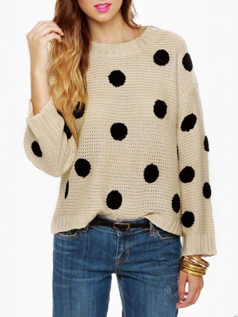 Cheap Thrills 30 Cute Sweaters Under 50 Clothes Jumpers Polka