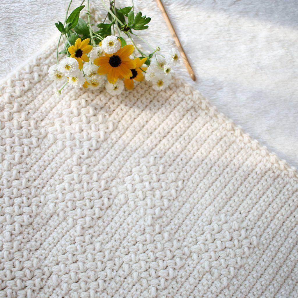Crochet Pattern - Cozy Dreams Baby Blanket P-CozyDreams | Manta