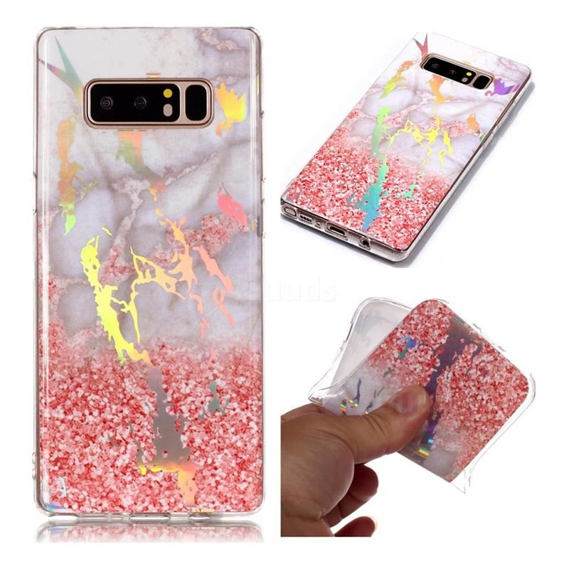 Powder Sandstone Marble Pattern Bright Color Laser Soft TPU Case for Samsung Galaxy Note 8 #guuds #samsung #galaxy #samsungnote8 #galaxynote8 #phone #case #cover #galaxynote8case #galaxynote8cover #samsungnote8case #samsungnote8cover #marble #marblecase #marblecover #marblephonecase #marblephonecover