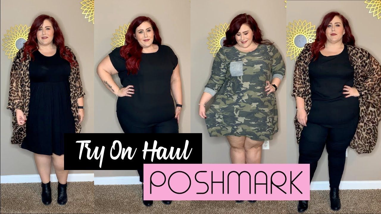 4a6bc69d16a Poshmark - Plus Size Try On Haul - YouTube | If I had a bigger ...