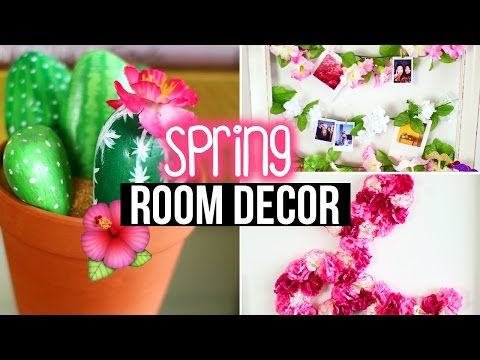 Diy Spring Room Decor Wall Decor Tumblr Inspired Laurdiy