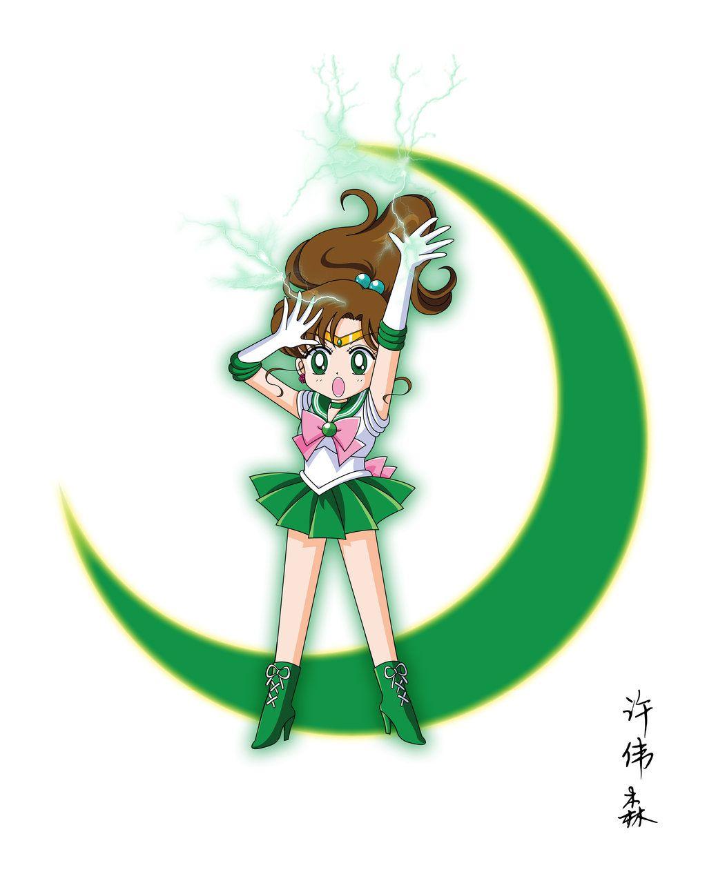 Chibi Sailor Jupiter By Xuweisen On Deviantart Sailor Jupiter Sailor Moon Jupiter Sailor Mini Moon