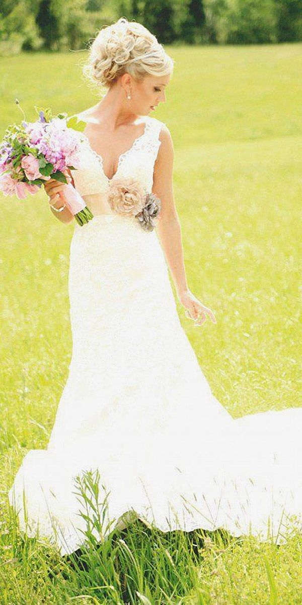 Rustic Style Wedding Dresses 3