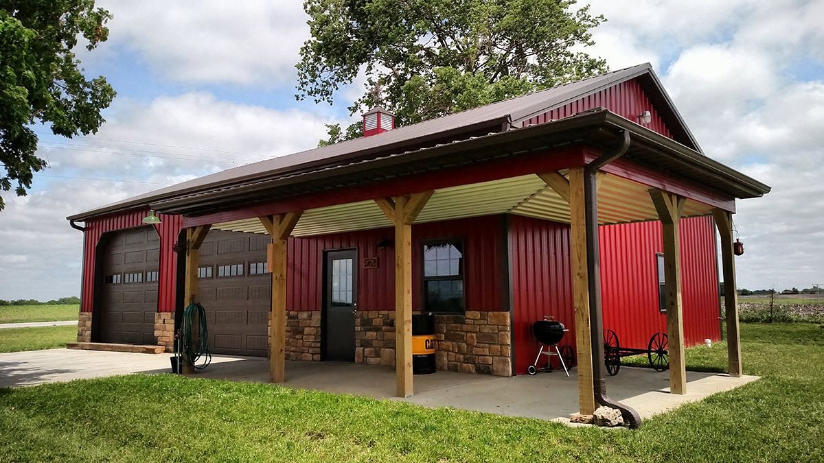 Outbuildings kansas city farm and home structures our for Farm shed ideas