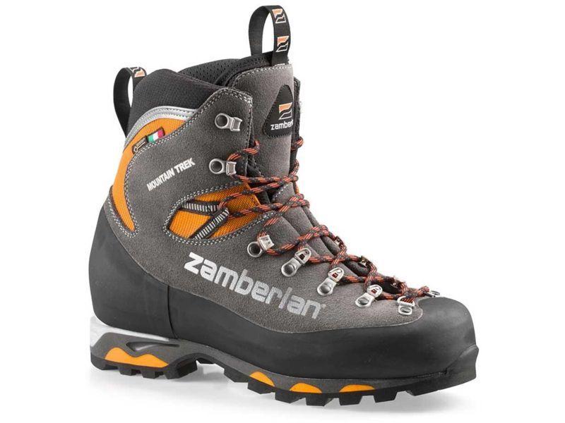 Zamberlan Mountain Trek Gtx Rr Mountaineering Shoes Men S Color Graphite Orange Mens Shoe Size 8 Us 8 5 Us 9 5 Us 11 5 Us 12 Us W Free Shipping In 2021 Fishing Boots Mountaineering Boots Boots