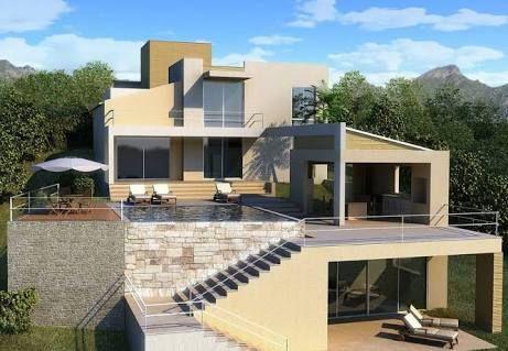 Resultado de imagen para terrazas de casas minimalistas Fachadas - casas minimalistas
