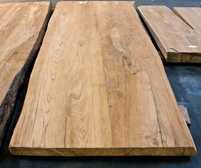 Teak Lumber Solid Teak Slabs Reclaimed Teak Tables