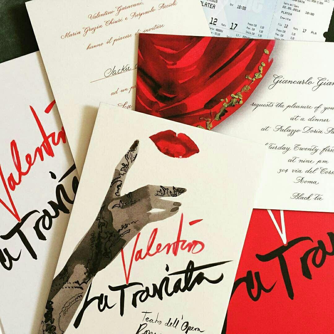 @maisonvalentino La Traviata