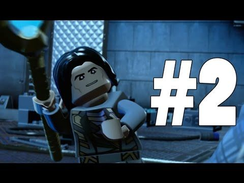 LEGO MARVELu0027S AVENGERS   Part 2   Loki Arrived!