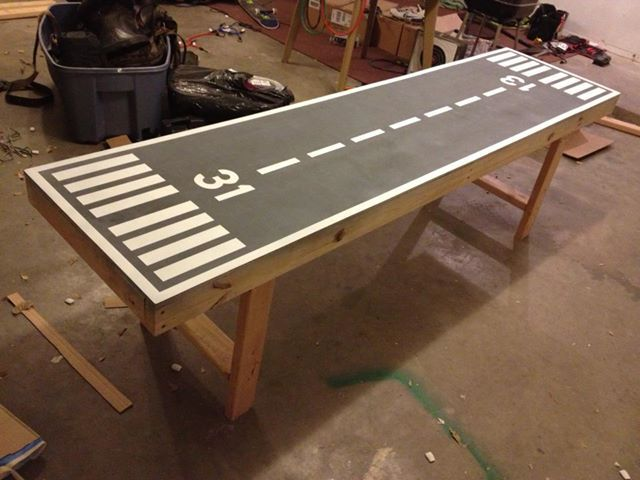 Runway beer pong table. The official beer pong table ...