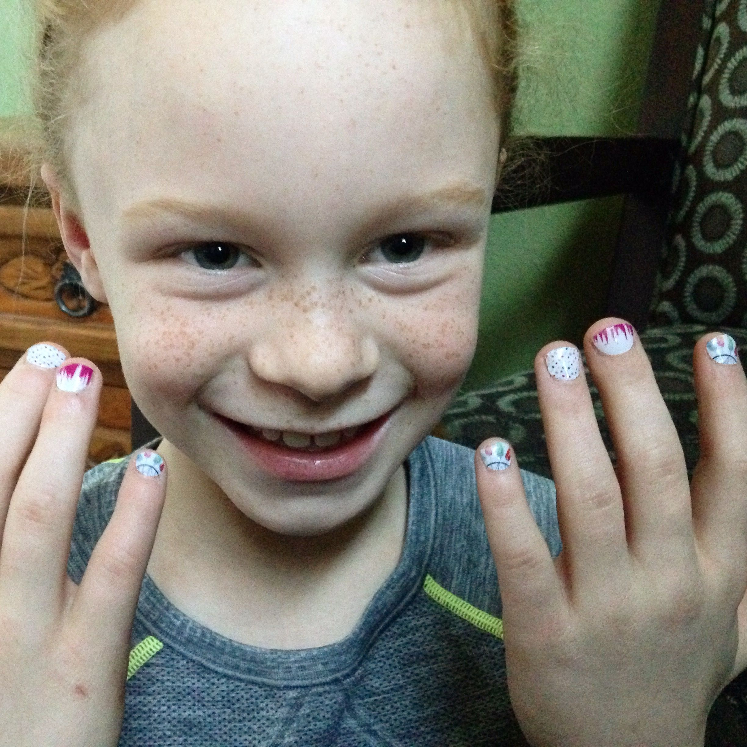 Jamberry nail wraps for little girls too! desireebrown.jamberrynails.net