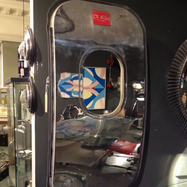 Vintage airplane door for sale in antique store  | Misc