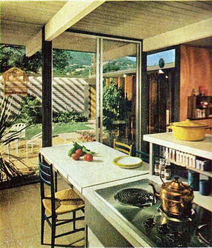 Mid Century Modern Design Cool House: Eichler Kitcheny Goodness In 2019