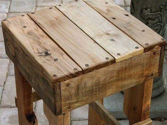Recicla casa muebles de madera reciclada muebles for Cosas con madera reciclada