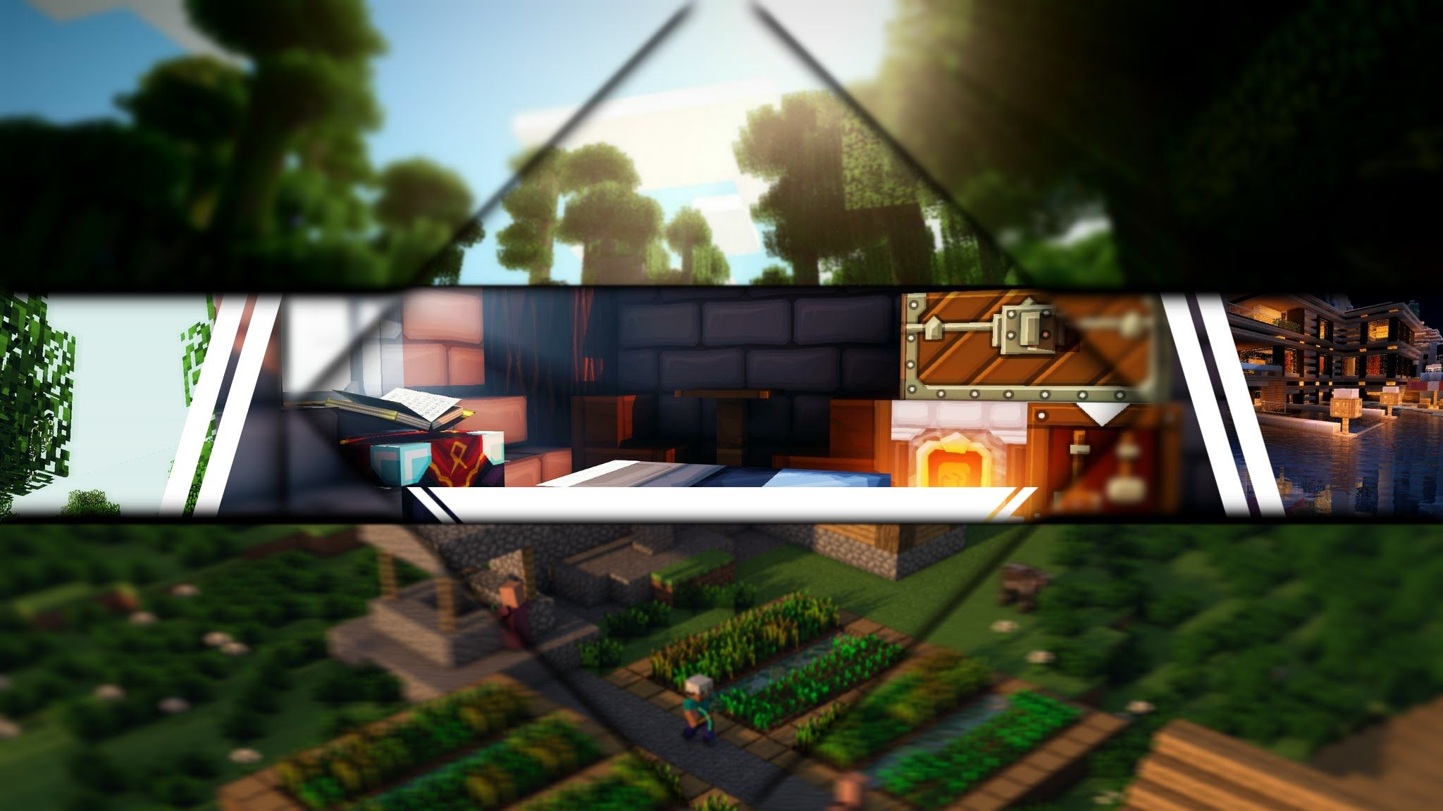 25+ Best Looking For 2048x1152 Minecraft Youtube Banner No Text