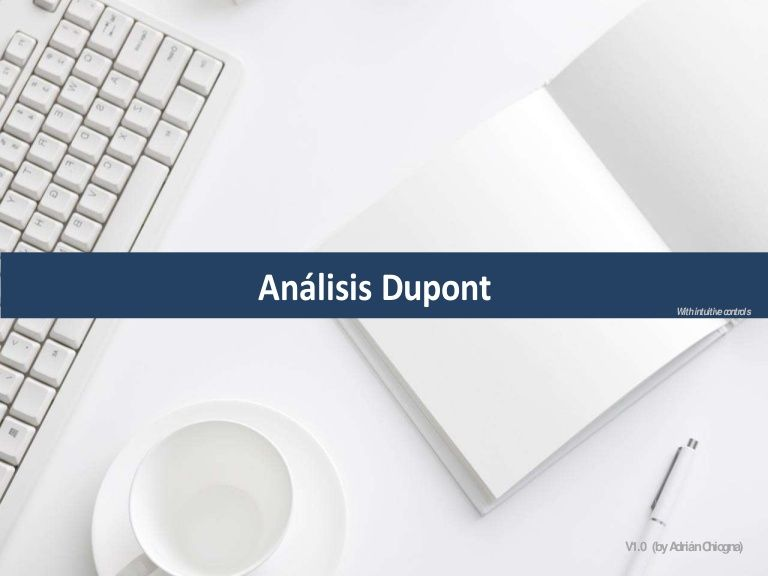 Análisis Dupont (excel) with intuitive controls by Adrián Chiogna - sample personal financial statement example