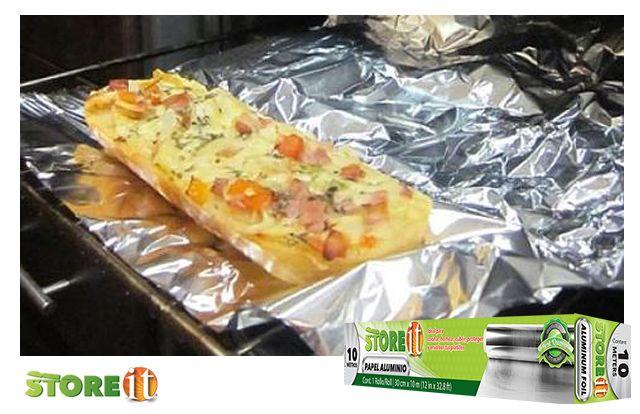 Recuerda que dentro de la línea Basics de STOREit puedes encontrar el Papel aluminio, siempre útil para tu cocina. Busca el tuyo en el supermercado más cercano, a un súper precio.
