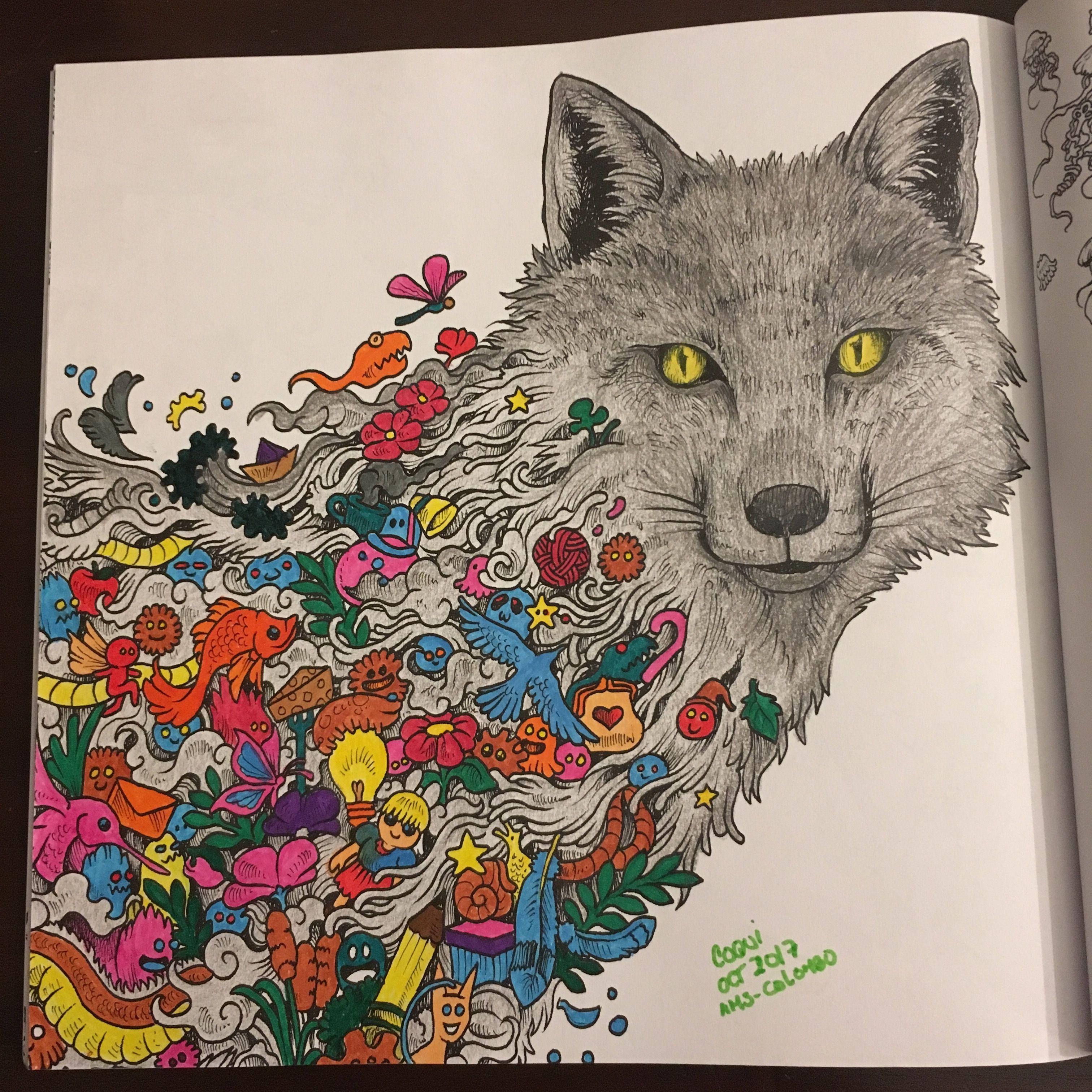 Un nuevo libro para colorear: #animorphia de @kerbyrosanes. Toda una ...