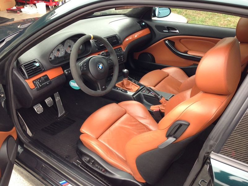 E46 M3 Cinnamon Interior Bavarian Motor Works Bmw E46 330 Bmw