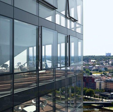 High Performance Energy Saving Low E Insulated Glass Facades