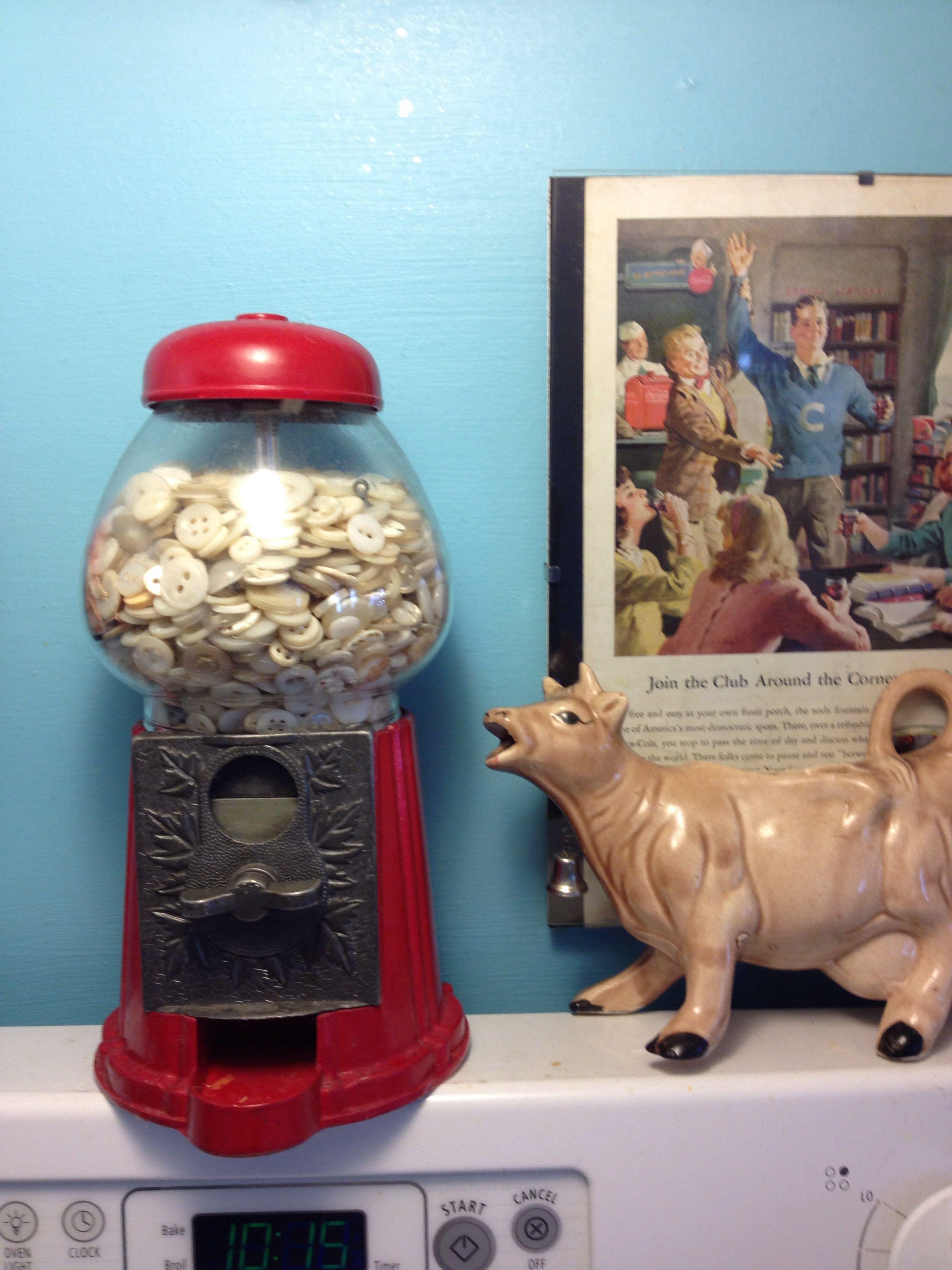 Vintage buttons | ☆kitchen | Pinterest | Turquoise kitchen ...