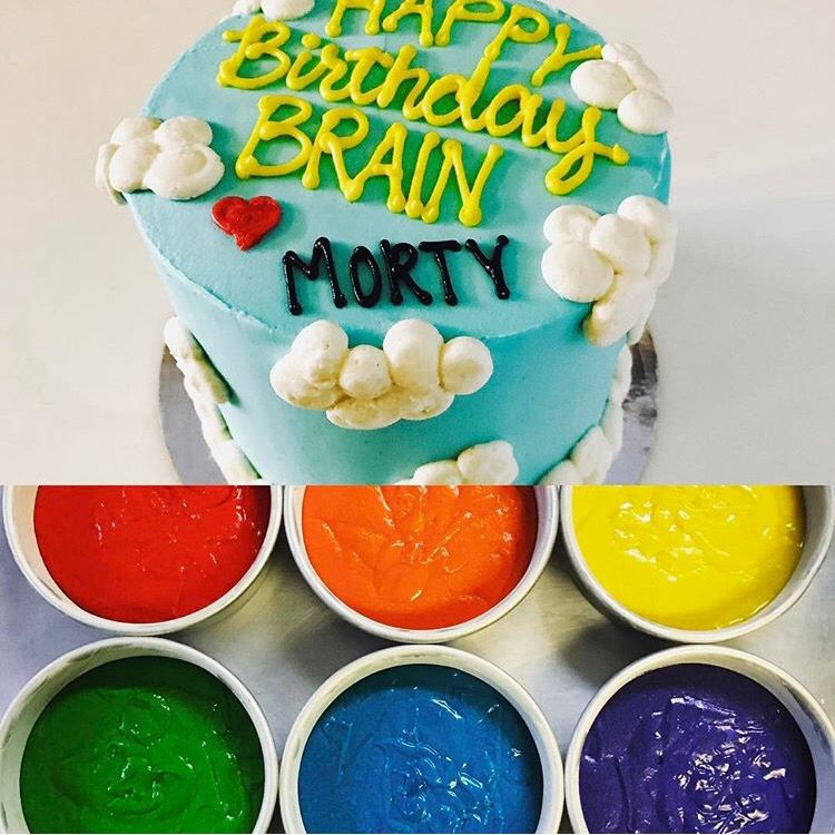 Check out this rainbow birthday cake we did Let us help you make