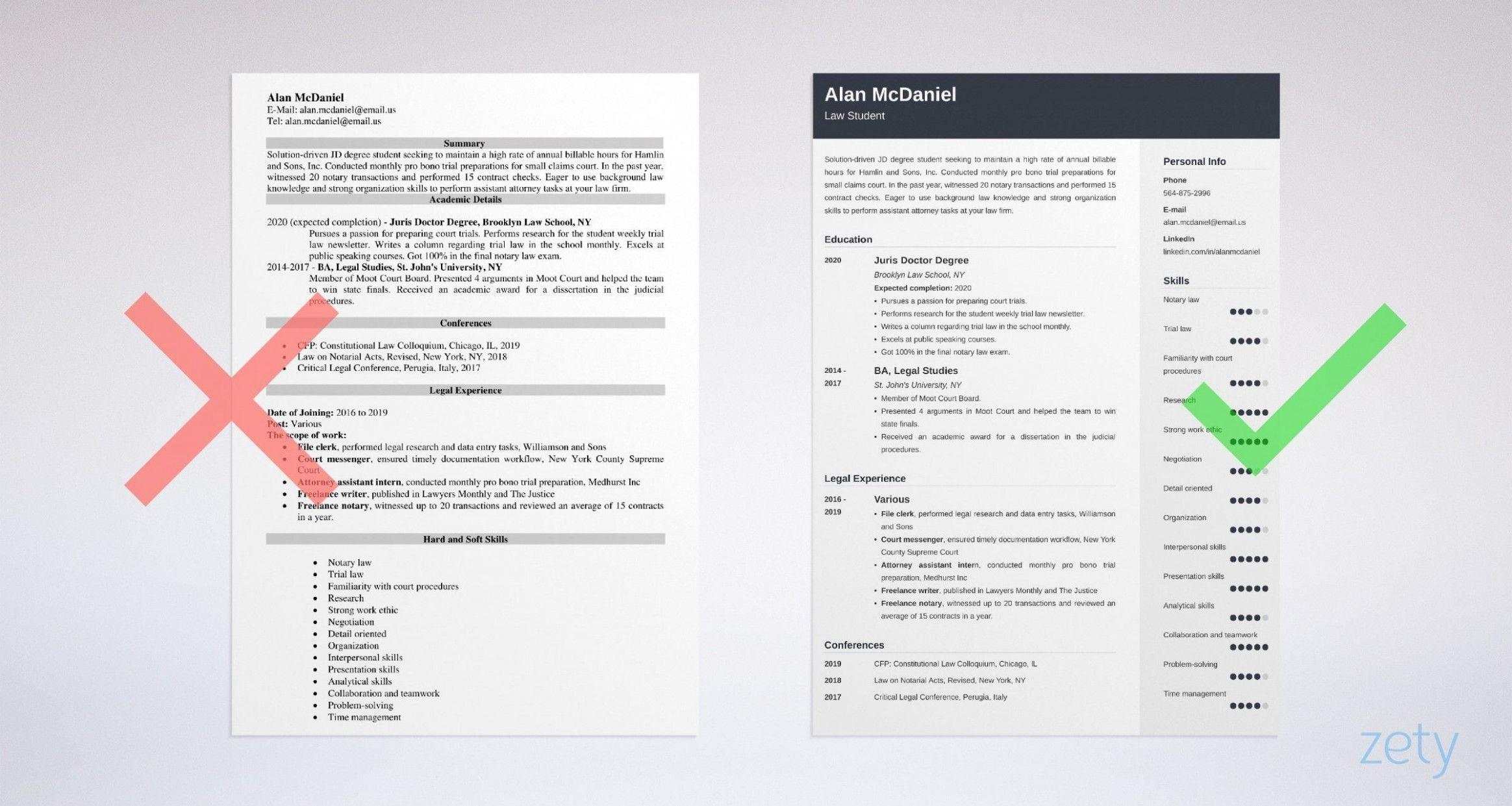 15 resume format for legislation college students 15