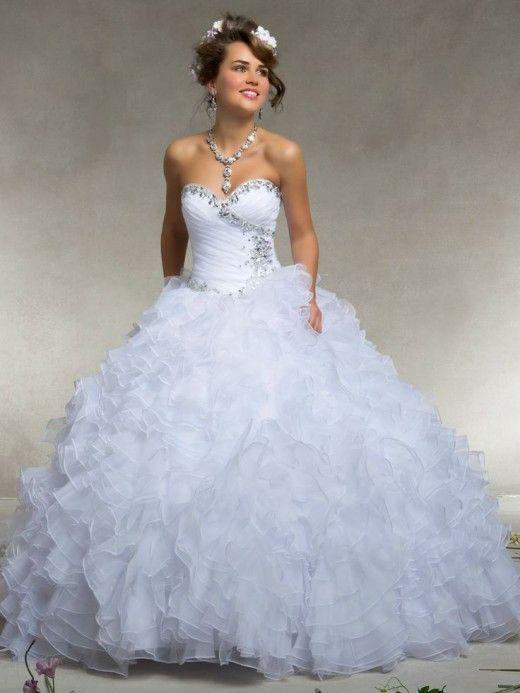 Estrella Fabulosos vestidos blanco de 15 años | Moda y tendencias