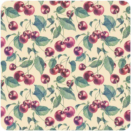 Cherry Patterns By Natalia Tyulkina Via Behance
