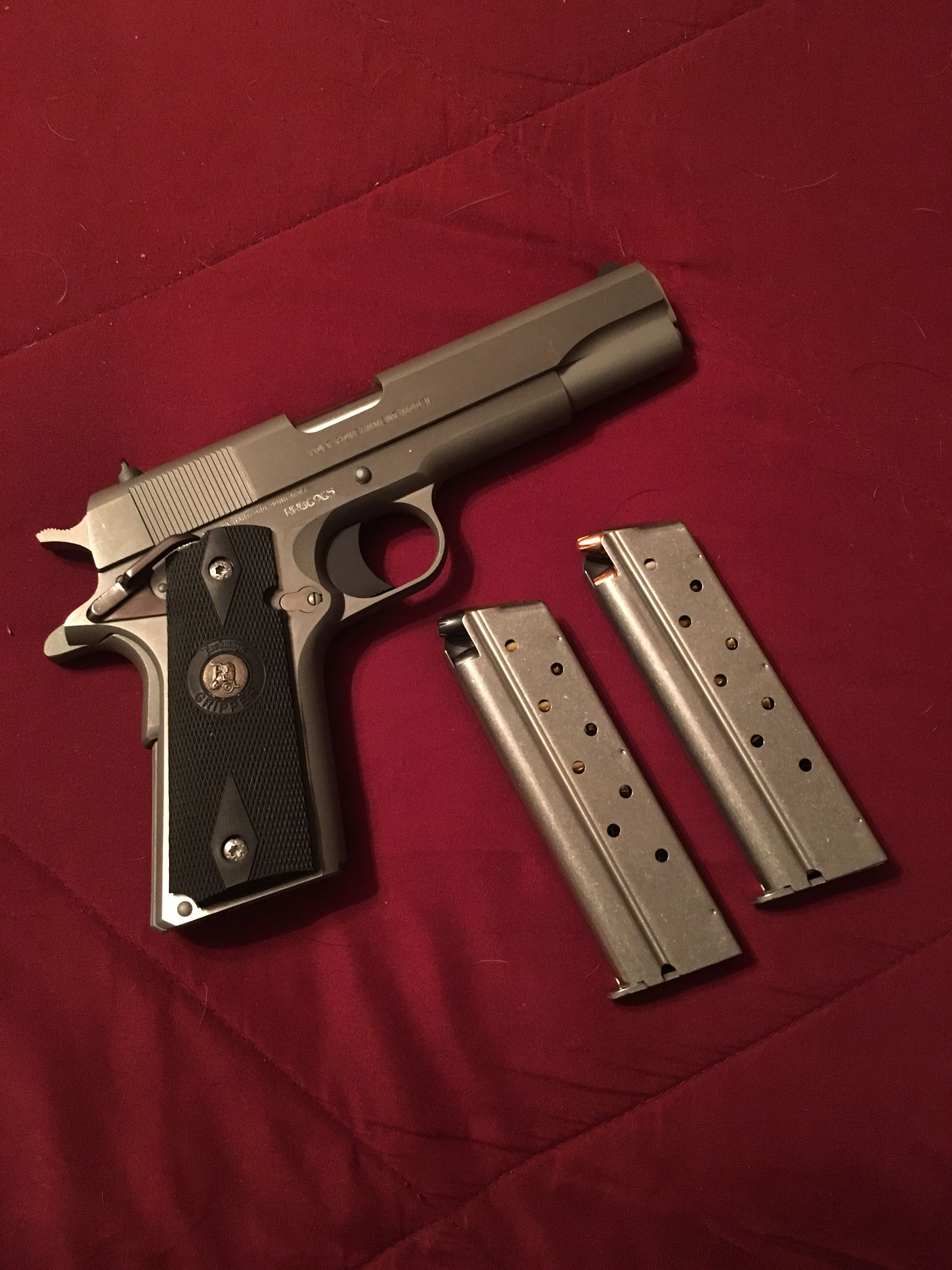 Colt 1911 government 9mm What a wonderful gun to own and shoot