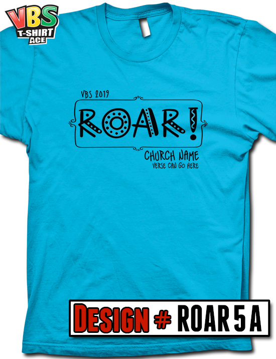 ff693483ef56 Customize your 2019 VBS shirt design for In the Wild, Roar, or any Jungle