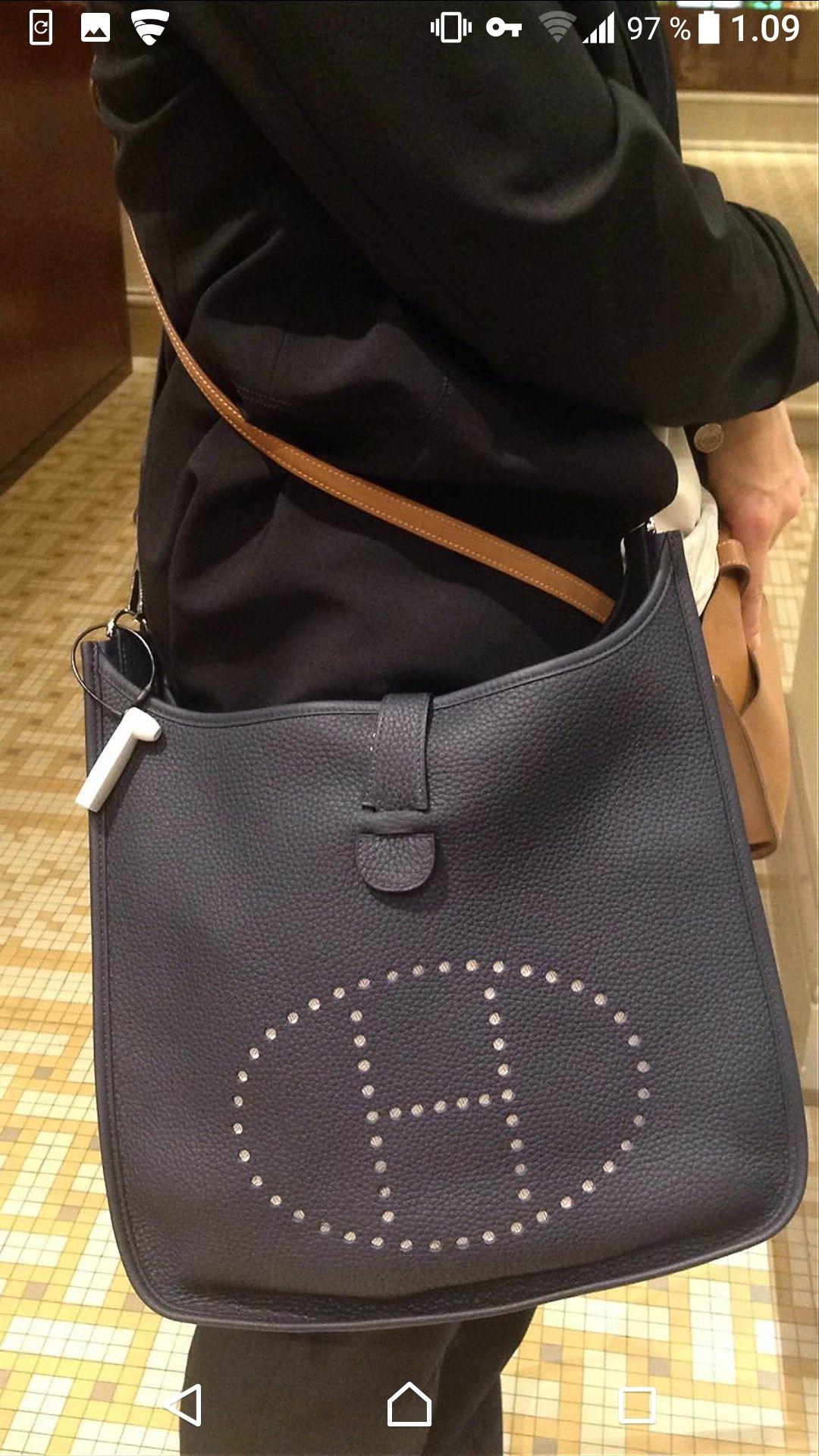 Hermès Evelyne lll GM Bleu Nuit  51ca5c339a2bf