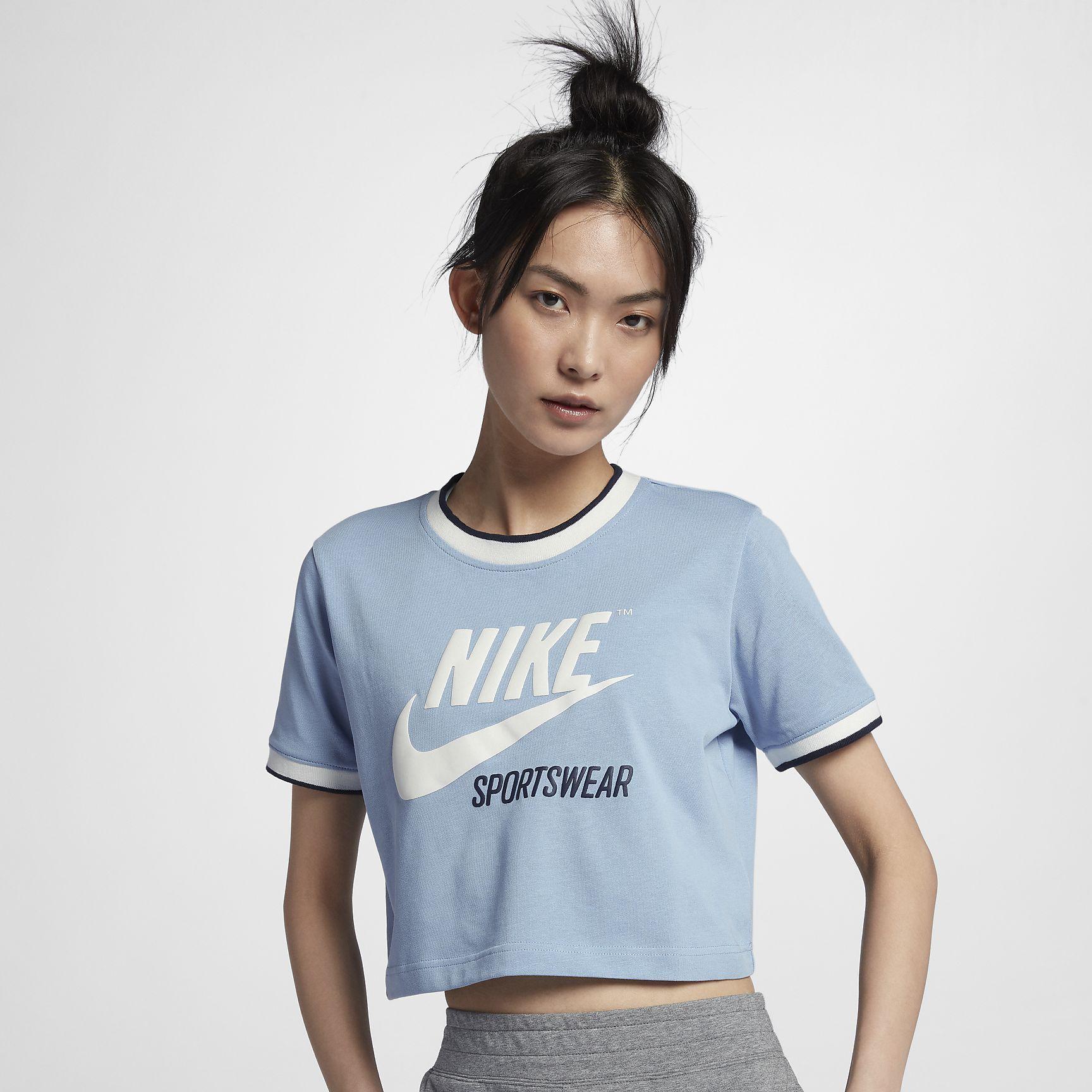 Γυναικεία μπλούζα Nike Sportswear Archive  7af03afa8bd