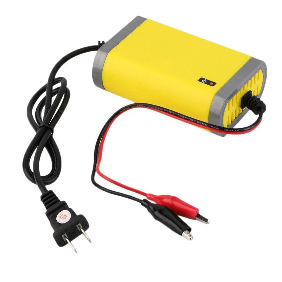 12V 2A Intelligent auto Car Battery Charger Voltage