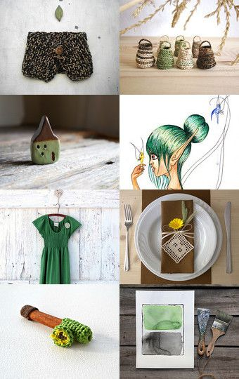 FaiRieS by Pascale on Etsy--Pinned with TreasuryPin.com