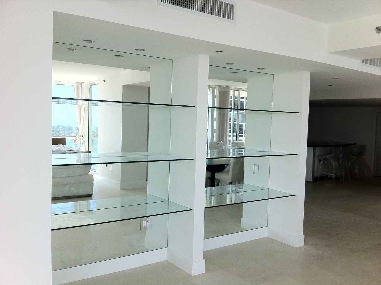 Mirror Glass Shelves Google Search Shop2 In 2018 Rh Com Behind