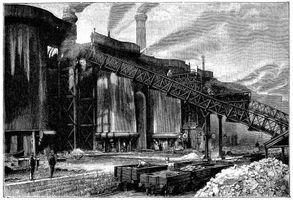 Factories During Industrial Revolution Conditions Growth
