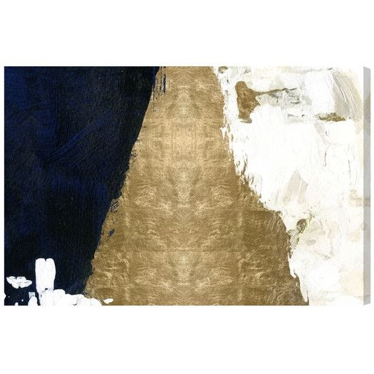 Mercer41 Night And Day By Artana Print Of Painting On Wrapped Canvas Reviews Allmodern Abstracto Thing 1