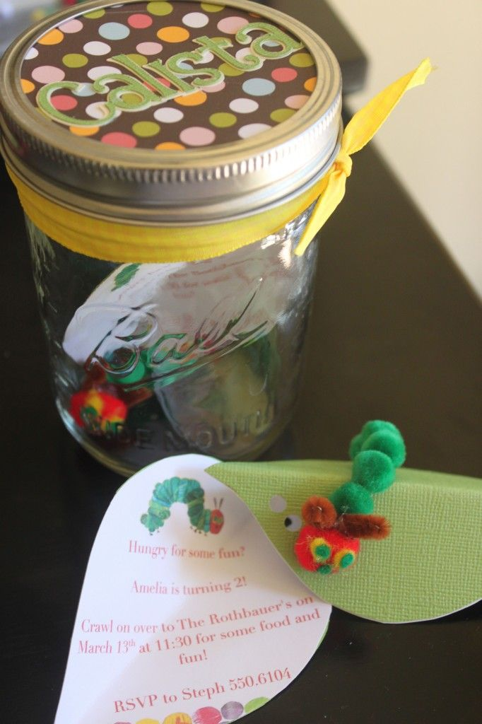 The Very Hungry Caterpillar Birthday Party (dress for birthday girl ...
