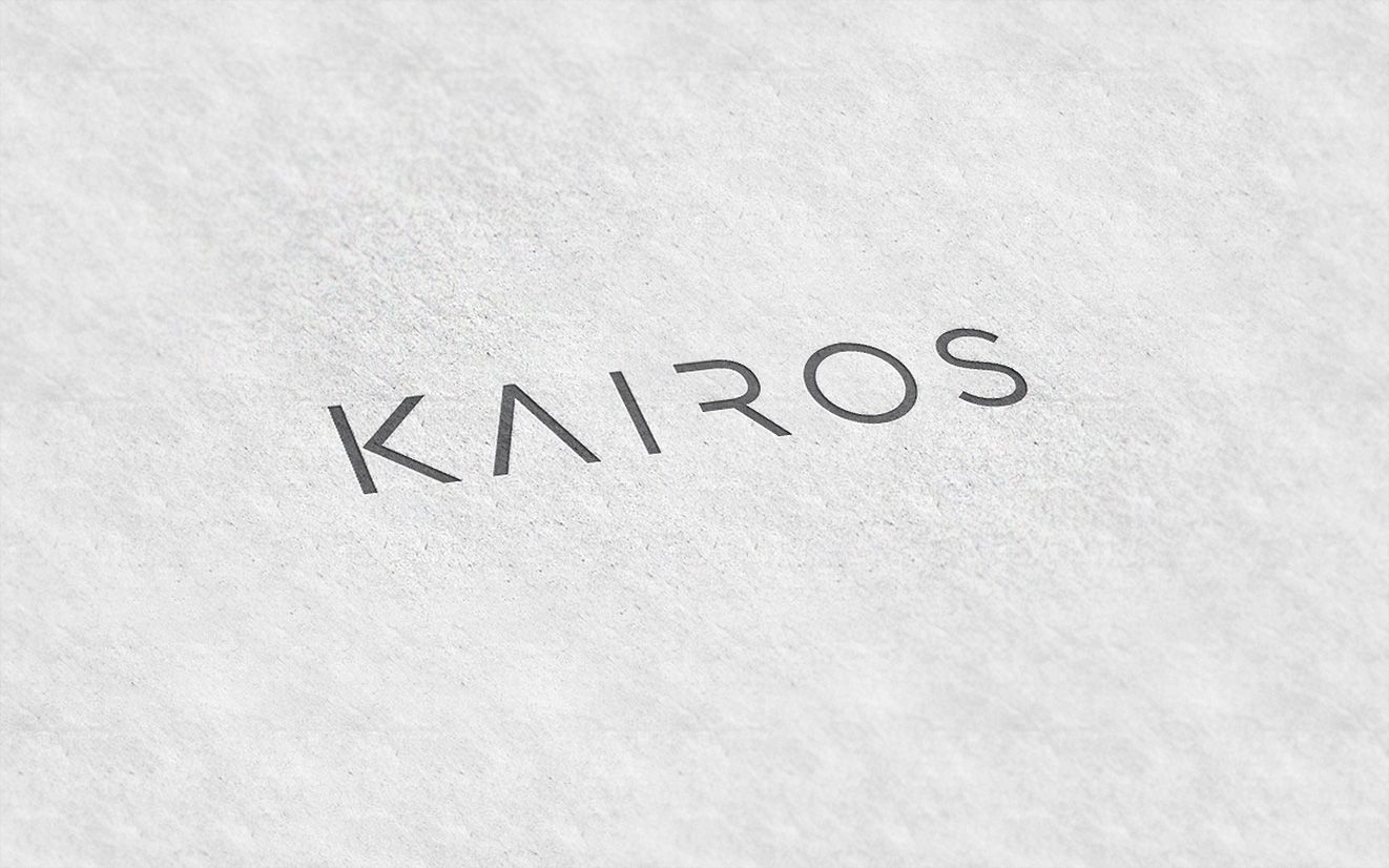 Kairos logo embossed | GridXLogo | Pinterest | Logos and Brand ...