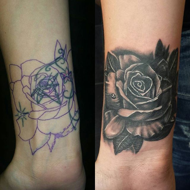 how to make grey wash tattoo ink