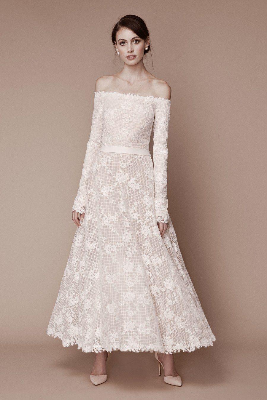 Tadashi shoji bridal fall 2019 fashion show short