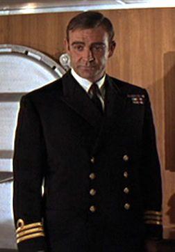 Royal Navy Commander James Bond, CMG, RNVR, | James bond movies, James bond,  Sean connery