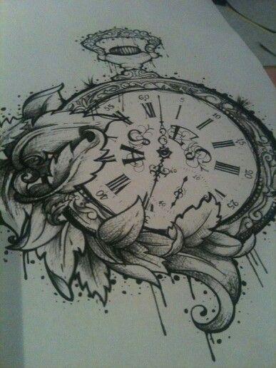 Pocket watch http://tattoo-ideas.us
